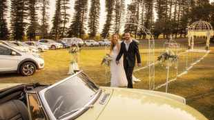 Say 'I do' with a drive-in wedding