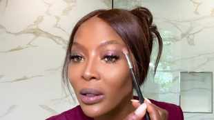 WATCH: Naomi Campbell shares her 10-minute beauty routine