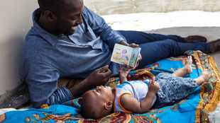 How dads can make a real difference simply by sharing a story