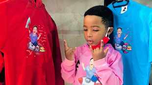 LOOK: At age 6, Valdo launches his own clothing line
