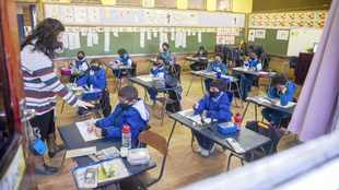 Protests in Cape Town as Grades R, 6 and 11 return to school