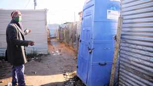 Strand residents cry foul over removal of communal toilet in informal settlement