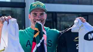 Watch: Springboks reveal winners of fundraising campaign