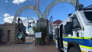 Attackers were disguised as cops and 'armed to the teeth', claims hostage drama church