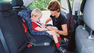 Less than 7 percent of SA kids in safety seats