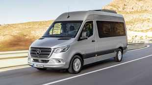 New Mercedes Sprinter embraces 'internet of things'