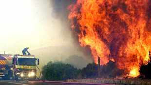 Western Cape feeling the heat after province hit by wildfires