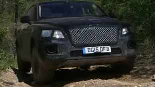 Watch Bentley's SUV take on the bush
