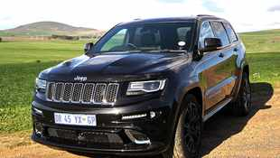 Jeep SRT is a grunting road-eater!