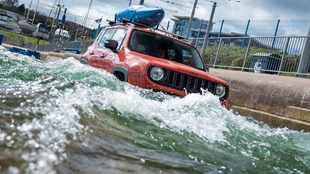 Watch Jeep's extreme white-water drive