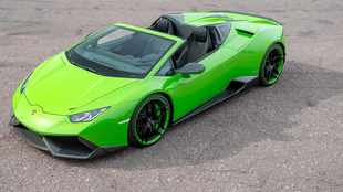 Lambo Huracán tuned to 633kW and 960Nm