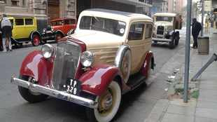Classic 1934 Chevrolet steals the (TV) show