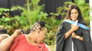 Pain and suffering first, then jubilation for most graduates