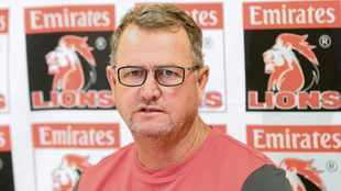 Lions coach Swys on stress condition: I didn't realise I am a control freak
