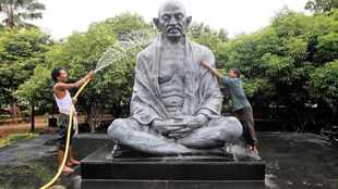 Gandhi's message of non-violence still echoes on 150th birthday