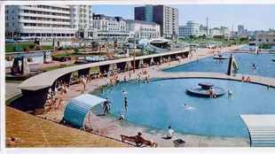 Then & Now: North Beach paddling pools