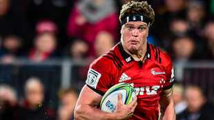 Crusaders captain Barrett out for up to four months, says coach Robertson