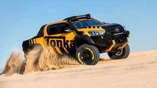 Toyota turns Hilux into real-life Tonka toy
