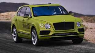 Bentley to take on Pikes Peak - with a Bentayga!