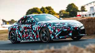 Watch: Toyota Supra prototype makes dynamic debut