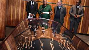 PICS: Maropeng Centre unveils historic skeleton for BRICS leaders