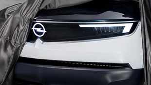 GT X concept teaser gives closer look at new face of Opel