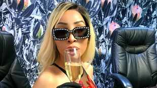 PICS: Khanyi Mbau party's up a storm for her 33rd birthday