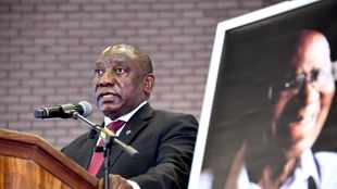 PICS: Ramaphosa lauds Andrew Mlangeni for remaining true to ANC and refusing to be silenced