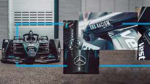 Mercedes to finish Formula E season in all-black cars as a statement against racism