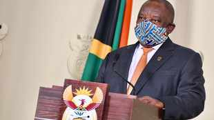 Ramaphosa steals the show with mask blunder