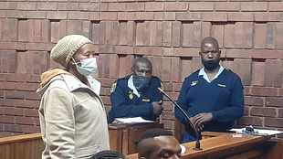 Olievenhoutbosch woman in court for alleged murder, burying bodies