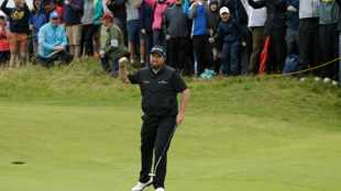 Holmes, Lowry on top at The Open as Tiger Woods, Rory McIlroy miss cut