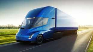 Tesla thrusts into trucking future with radical big-rig