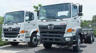 New Hino 500 trucks enter local production