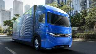 E-Fuso concept heralds a new breed of electric trucks