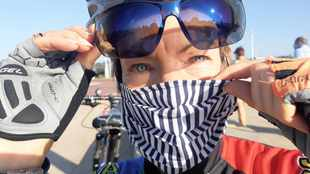 Durban woman designs masks that won't fog up your glasses during exercise