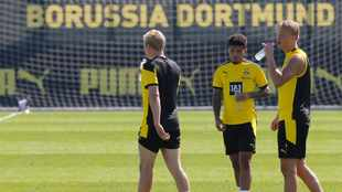 Sancho at Dortmund training camp while Reus, Schmelzer miss out