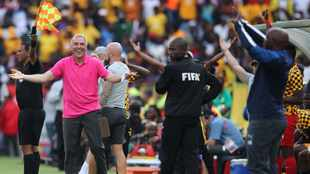 Pitso Mosimane and Ernst Middendorp on personal crusades in PSL title race