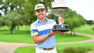 Double delight for Higgo as he claims Tour Championship