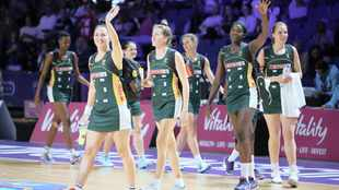 South Africa is Africa's highest ranking team at No 5 in world netball