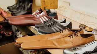 PICS: These shoes were made for social distancing