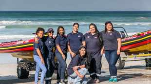 For the women of NSRI Station 16, there's only one mission - saving lives