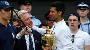 Djokovic will not ease up in quest to be greatest, says Becker