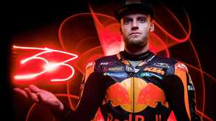 Here's what Brad Binder had to say about his win and the afterglow