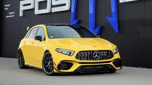 Mercedes-AMG A45 cranked up to 386kW by German tuner Posaidon