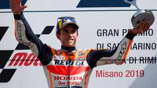 Marquez ruled out of Czech race due to broken arm, replaced by Bradl