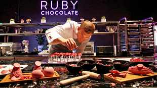 Red chocolate the indulgence for a new generation
