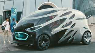 Mercedes' Vision for future transport will think for itself