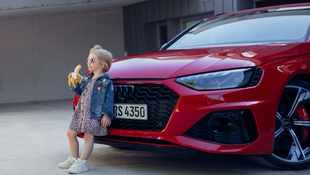Audi issues apology for 'insensitive' ad showing little girl eating a banana