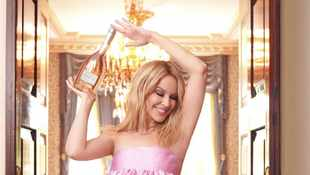 Rosé every day: Kylie Minogue announces new wine in prestigious 'Collection' series